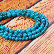 Emperor Green Natural Stone Bead Round Loose Spaced Beads 15 Inch Strand 4/6/8/10/12mm For Jewelry Making DIY Bracelet