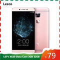 Leeco LETV Le 2 X620 Deca Core MTK Helio X20 3GB RAM 32GB ROM Smartphnoe 5.5
