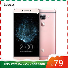 Leeco LETV Le 2 X620 Deca Core MTK Helio X20 3GB RAM 32GB ROM smart phone 5.5