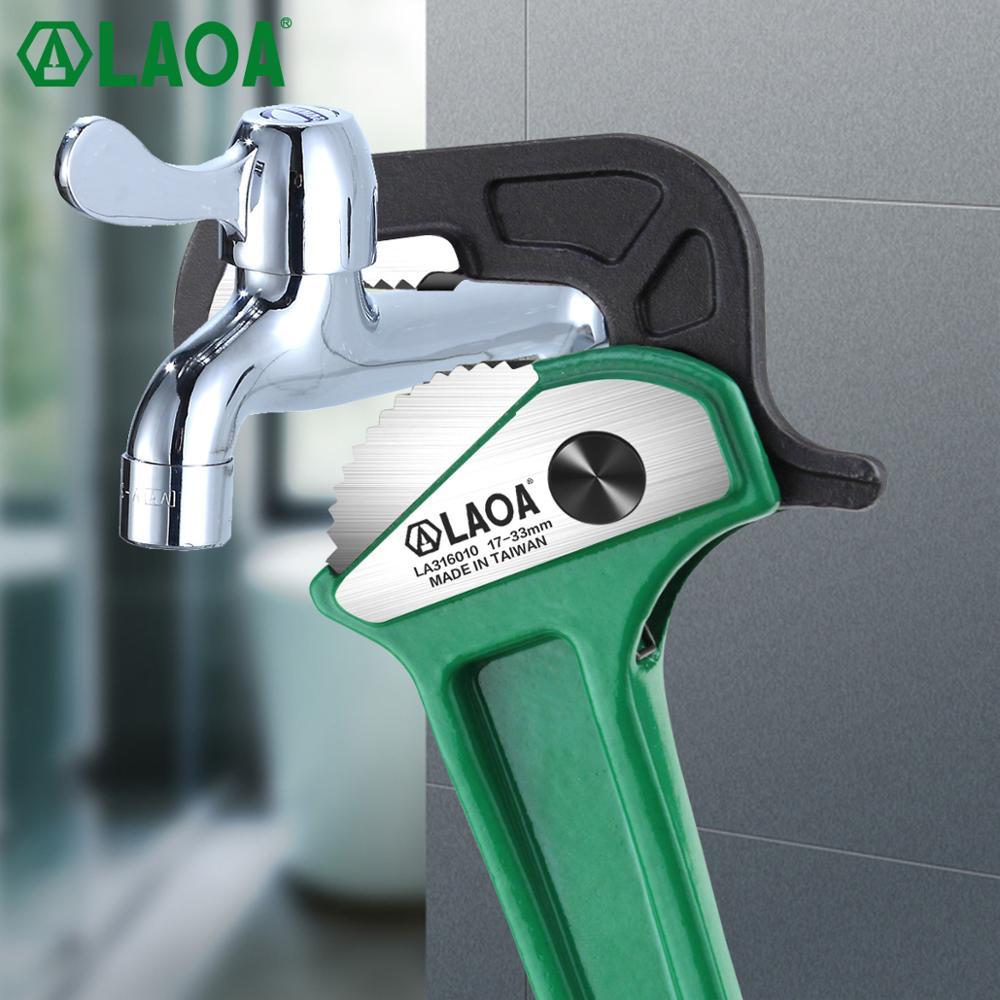 LAOA Pinze per tubi rapide multifunzione in alluminio a cricchetto - Utensili manuali - Fotografia 3