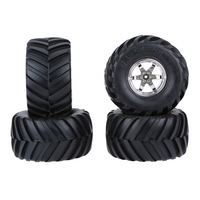 4Pcs/Set 1/10 off Road Wear resistant Crush resistant Monster Truck Tire Tyres for Traxxas HSP Tamiya HPI Kyosho RC Model Car