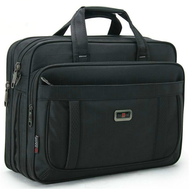 Classic Men Laptop Hand Bags Male High Quality Durable Oxford Cloth Business Shoulder Bag Office Bags Women 15