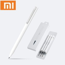 Xiaomi Mijia Pen with 0.5mm Swiss Refill 143mm Rolling Roller Ball Sign Pen Mi  Signing Ballpoint Pen Signature Pen Office Study luxury series roller ball pen ballpoint refill pen box gift box pouch 710 signature