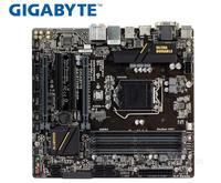 Gigabyte GA B150M D3H carte mère d'origine B150M D3H DDR4 LGA 1151 HDMI DVI VGA USB3.0 64G B150M D3H asus p7p55d-e motherboard asus lga 1156 -