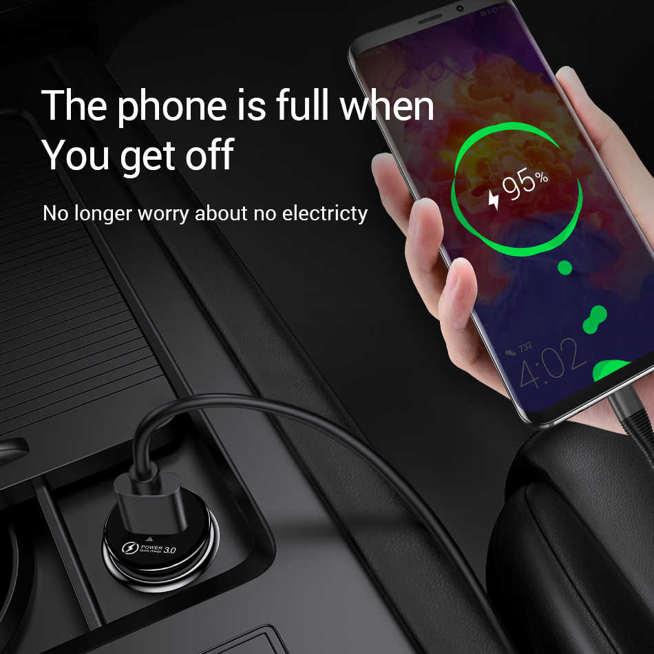 Olaf 36W Quick Charge 3.0 USB Car Charger 5V 3.4A Usb Mobil Charger untuk iPhone X 7 samsung S10 A50 Xiaomi QC3.0 Mobil Charger Telepon
