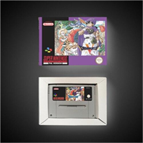 드래곤 퀘스트 V 5   EUR 버전 RPG 게임 카드 배터리 저장 상자