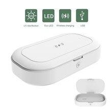 Wireless Charger UV Phone Sterilizer Box Jewelry Phones Clea