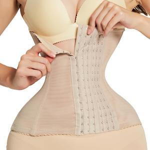 Image 2 - ウエストトレーナーバインダーシェイパーモデリングストラップコルセット痩身ベルト下着ボディシェイパーボディニッパーfajaスリミングベルトおなか女性