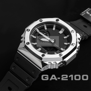 Ремешок для часов, Безель для GA-2100 316L, нержавеющая сталь, металлический ремешок, чехол для часов, ремешок для GA-2100, стальной пояс с инструмент...
