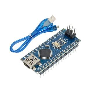 Image 2 - Freeshipping 100 sztuk Nano 3.0 kontroler kompatybilny nano CH340 dysk USB bez kabla NANO V3.0