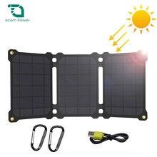 Зарядное устройство на солнечной батарее 5 В зарядное с двумя