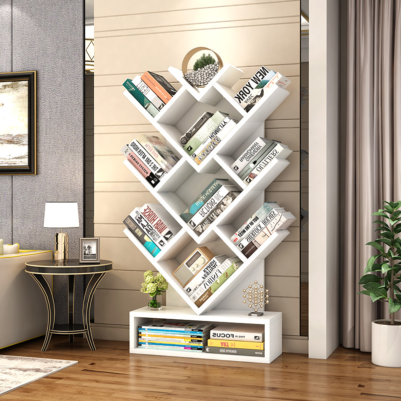 Tree-shaped Bookshelf Storage Rack Creative Children Bookshelf Storage Rack Living Room And Simple Bookshelf