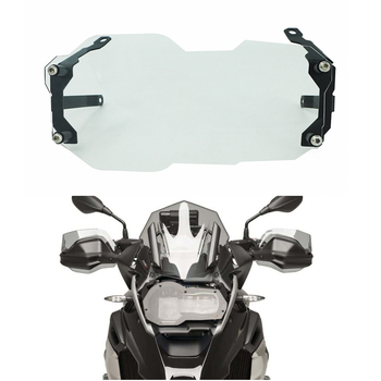 Motorcycle Transparent Headlight Protector Guard Cover Protection For BMW R 1200 GS R1200 GS R 1250GS ADV/ADVENTURE LC 2013-2020 motorcycle headlight protector cover clear grid for bmw r1200 gs r1200 gs adventure r 1200gs 2012 2013 2014 2015 2016 2017 2018