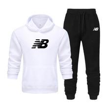 New Brand Men Hoodie Fashion Men Sportswear Hoodies+Pants Suit Hip Hop Men's tracksuit Sweatshirts Clothing Casual jogging suit