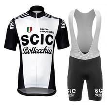 Vintage ciclismo Set babero corto verano ciclismo Jersey clásico estilo Retro colección ciclismo ropa superior camisa ciclismo desgaste