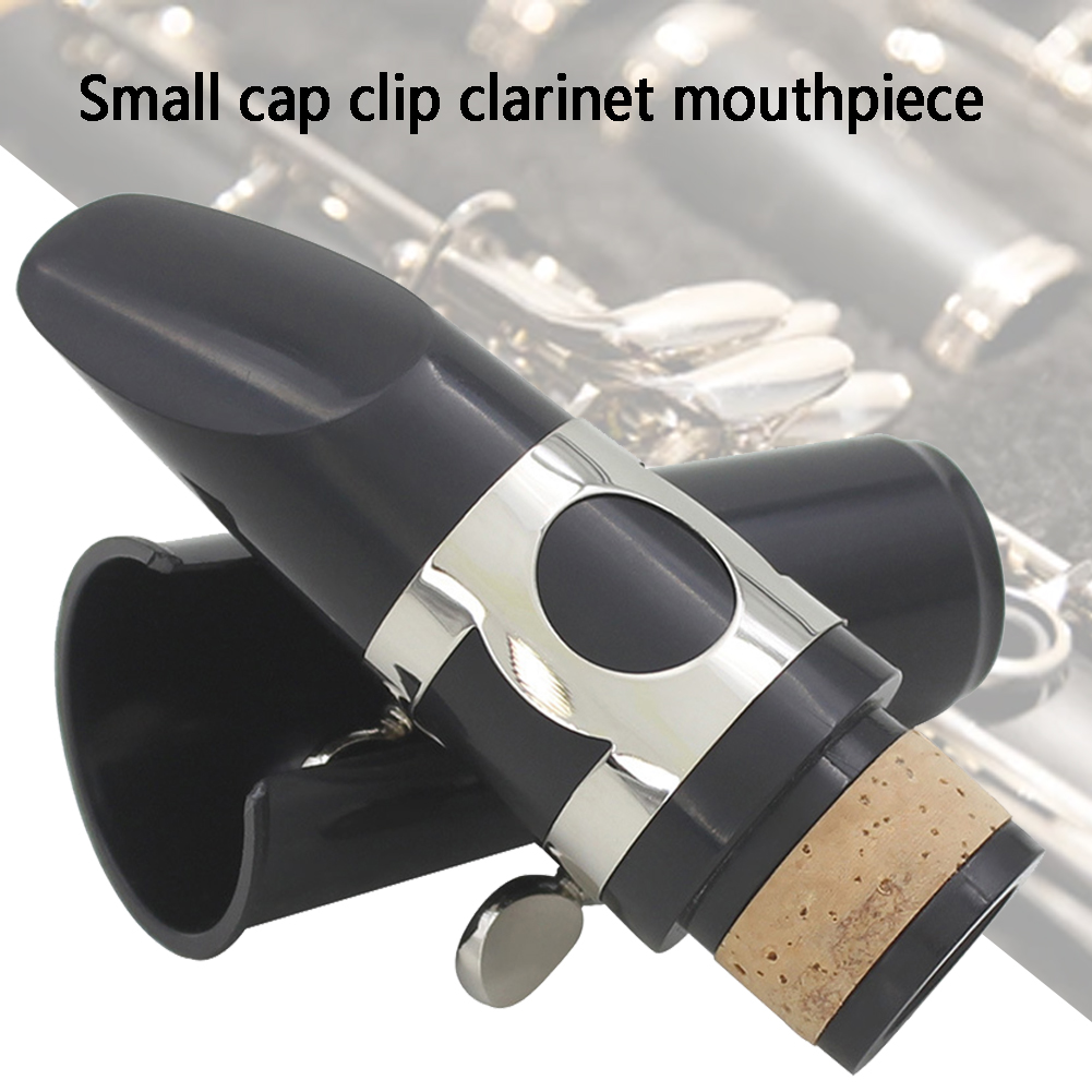 Professional Universal Standard Clarinet Mouthpiece Durable Woodwind Accessories With Cap Clamp Musical Instrument Fastener