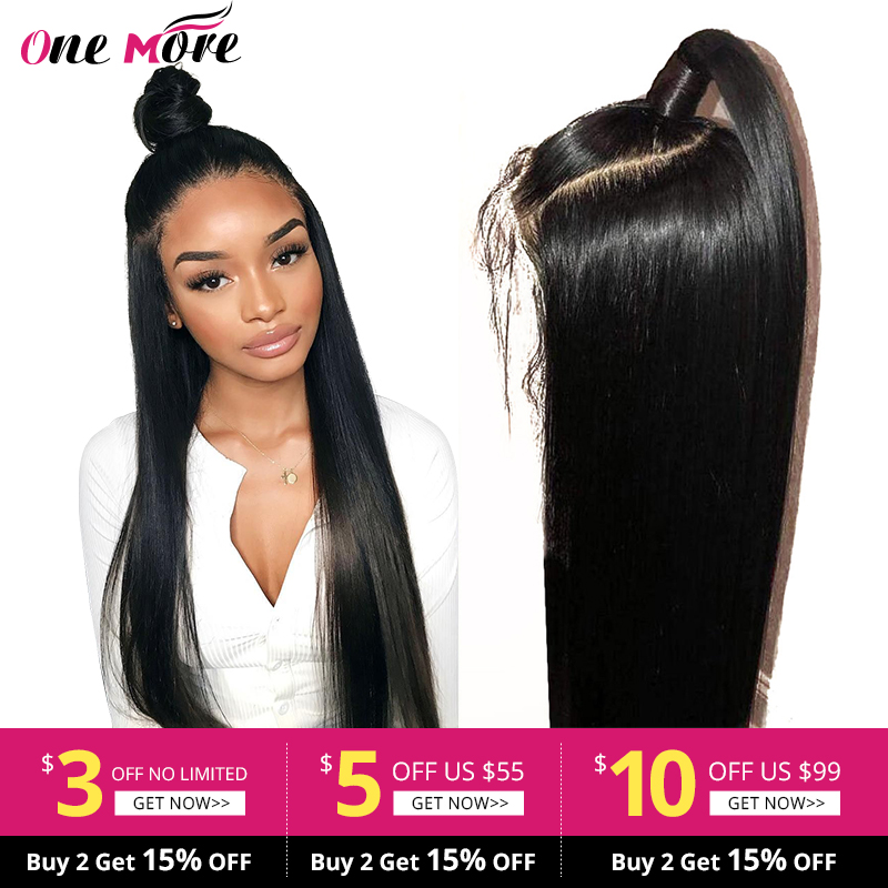 Lace Front Human Hair Wigs Straight Pre Plucked Hairline Baby Hair 8-26 Inch 13x4 150% Brazilian Remy Human Hair Lace Front Wigs