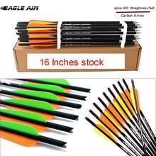 Высококачественные болты для арбалета 16 дюймов 400 стрел карбоновые