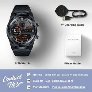 Image 5 - TicWatch برو 4G/LTE الاتحاد الأوروبي نسخة ساعة ذكية 1 جيجابايت رام النوم تتبع IP68 مقاوم للماء NFC LTE ل فودافون ألمانيا الرجال ساعة رياضية
