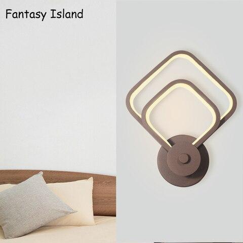 lampadas de parede led estilo nordico quarto led luzes de parede sala de estar iluminacao