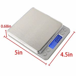 Image 4 - 500g x 0.01g Digital Pocket Jewelry Weight Electronic Balance Gram Scale
