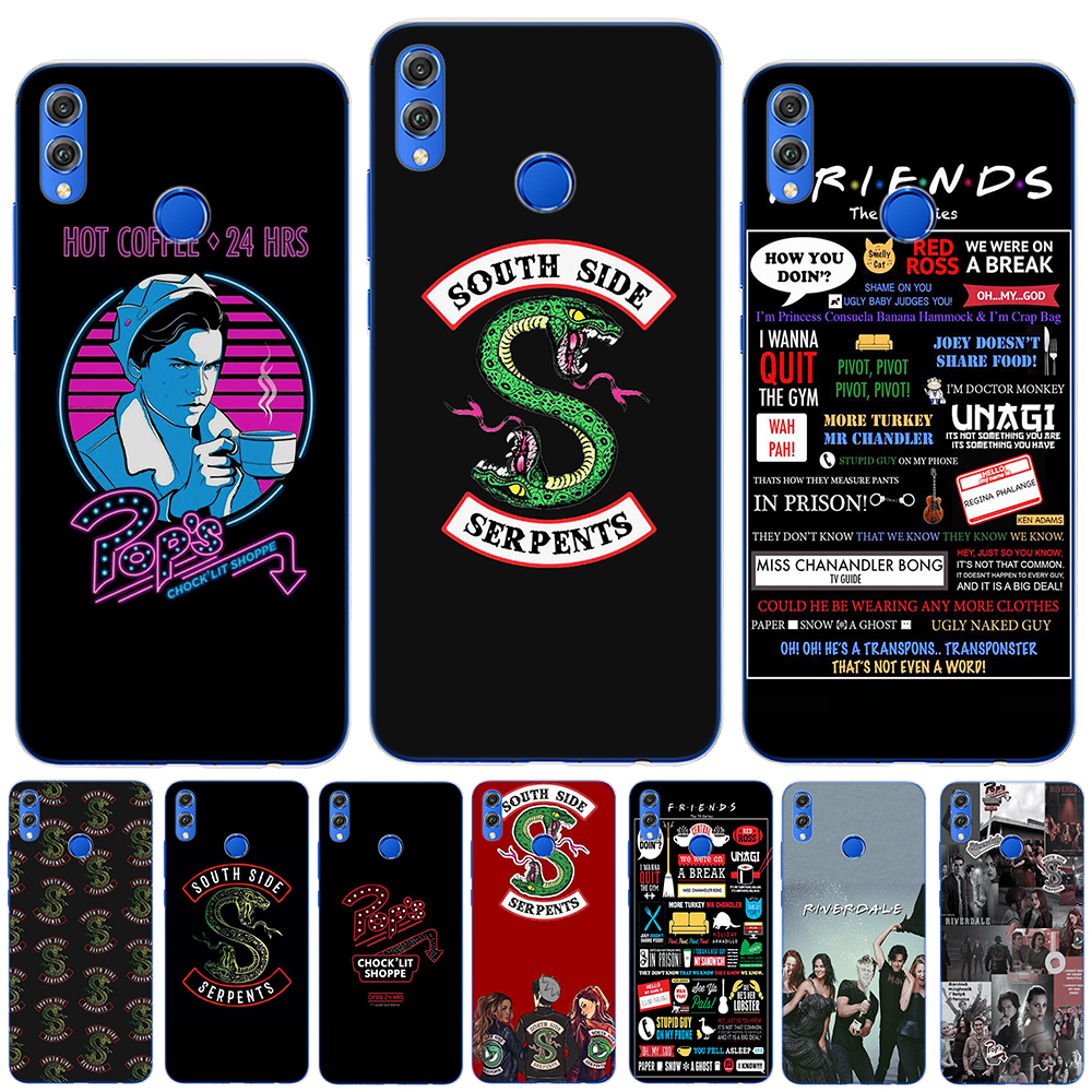 <font><b>Case</b></font> For Coque <font><b>Huawei</b></font> <font><b>Mate</b></font> 30 20 <font><b>Lite</b></font> Honor 9 <font><b>10</b></font> 20 <font><b>Lite</b></font> Pro 10i 8X 8C 9X Pro <font><b>Riverdale</b></font> Dominant Friends TV Show Soft TPU Cover image