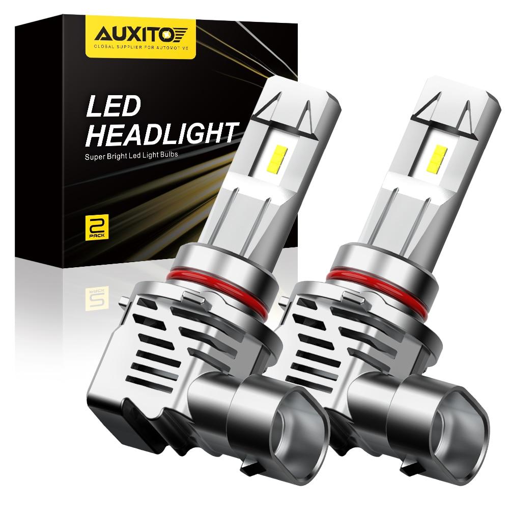 AUXITO 2 шт. H4 H7 Led Canbus H8 H11 HB3 9005 HB4 9006 светодиодный головной светильник s Mini 12000LM автомобильный светильник автомобильные лампы 12 В 24 В