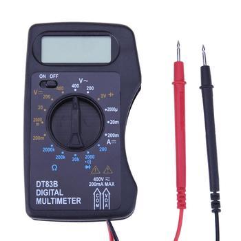 Przenośny multimetr cyfrowy 1999 zlicza Mini kieszeń amperomierz woltomierz napięcie prądu miernik oporu elektrycznego Test pojemności akumulatora tanie i dobre opinie alloet Metalworking NONE CN (pochodzenie) Multimeters 200-400V 200-2000-20k-200k-2000kΩ Handheld Wyświetlacz cyfrowy 2000u-20m-200mA