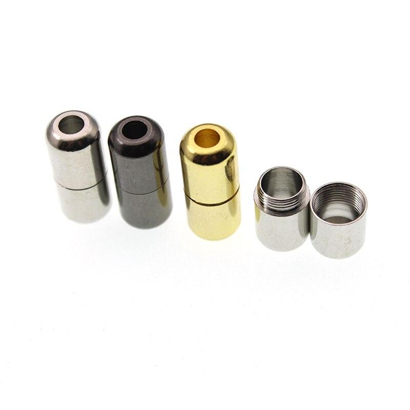 6Pcs/lot Hole 3.5mm Fits Shoelace Buckle,Lazy Shoe Laces Buckle, Necklace Bracelet End Caps Connector DIY Jewelry Findings