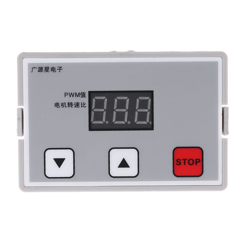 Digital Display 0~100% adjustable DC 12V <font><b>24V</b></font> <font><b>5A</b></font> <font><b>120W</b></font> PWM Motor Speed Controller Regulator Reversible Variable Speed Slow Start image