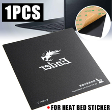 For Ender-3 3D Printer Parts 1pc Magnetic Base Print Bed Tape 235mm Heatbed Sticker Hot Bed Build Surface Flex Plate Mayitr new 2pcs 3d printer platform heated bed build surface tempered glass plate stickers for ender 3 printers parts accessories