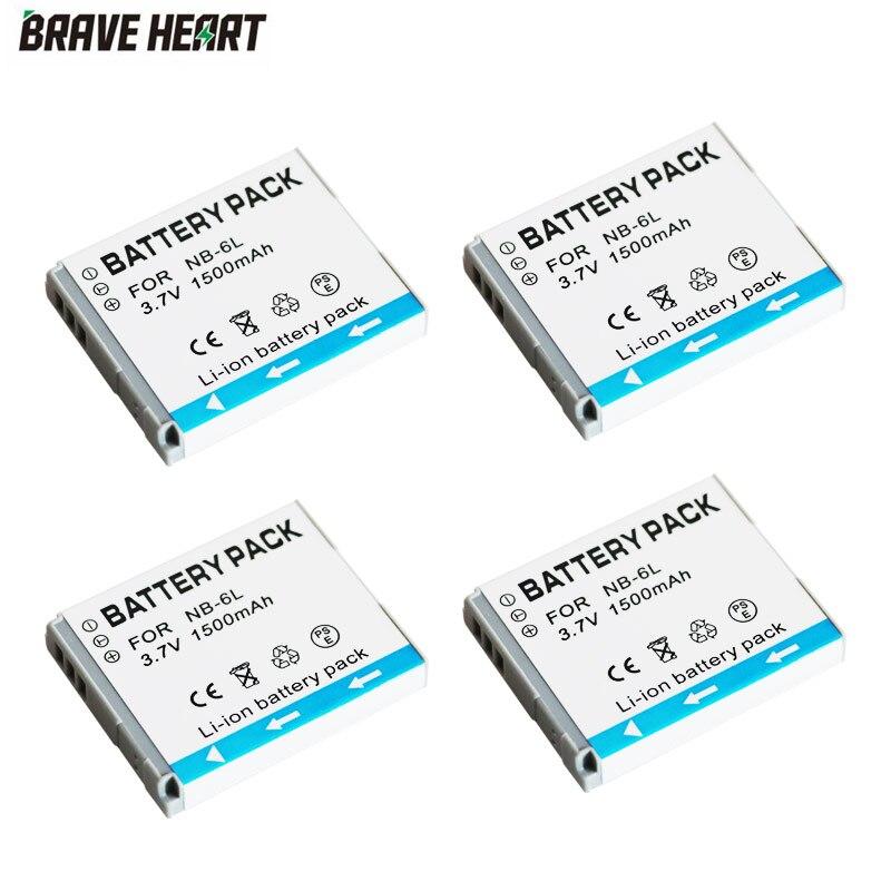 Kit De Cargador De Batería Para CANON NB-6L NB6L NB6LH NB-6LH