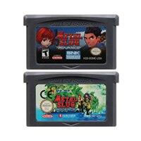 32 Bit Cartuccia del Video Gioco Console Card per Nintendo GBA Metal Slug Edizione in Lingua Inglese
