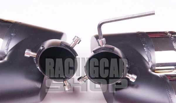 EXHAUST TIPS DUAL TIP 1 PAIR/SET for BENZ AMG W211 E-CLASS  M105W 3