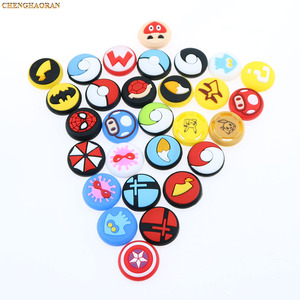 Image 5 - Mix 35colors Silicone Analog Thumb Stick Grips Caps for Nintend Switch NS JoyCon Controller Sticks Cap Skin Joy Con Cover