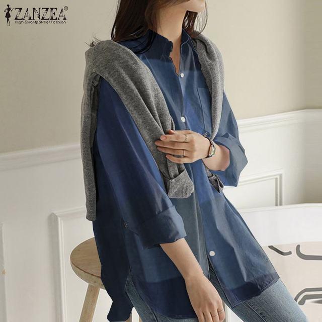 Long Sleeve Blouse 4