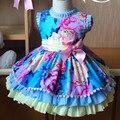Chegadas 2019new Espanhol Qualidade do Algodão das Crianças Palácio Vestido de Princesa Lolita Vestido De Aniversário Da Menina Criança Vestido De Natal