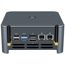Mini PC Intel Core i9 9980HK 8-Kerne DDR4 RAM M.2 SSD NVMe HDMI DP 4K 60Hz typ-C 5 * USB 2.4/5,0G WiFi Windows 10 Linux
