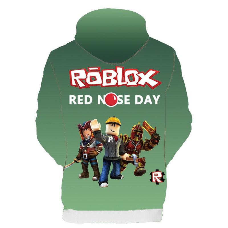 Boys Girls Kids Roblox Cotton Hooded Long Sleeve Shirts 8, Black