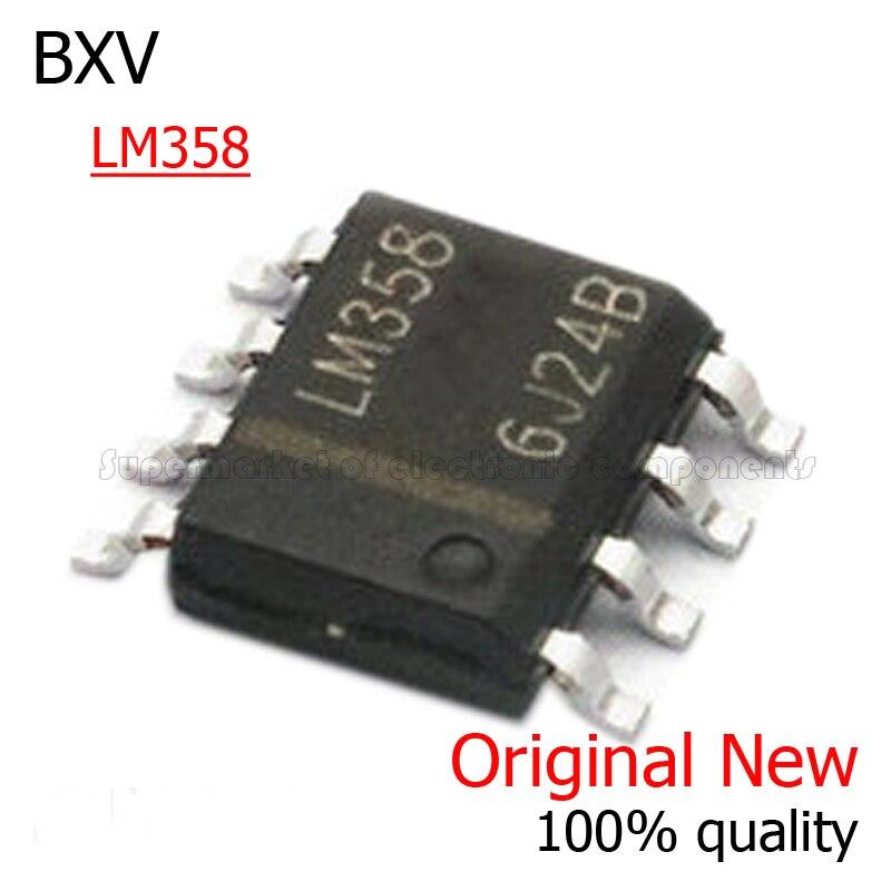 Набор микросхем LM358DR SOP LM358D SOP8 LM358 SOP 8 SMD, новая и оригинальная микросхема bxv, 10 шт.|Интегральные схемы|   | АлиЭкспресс