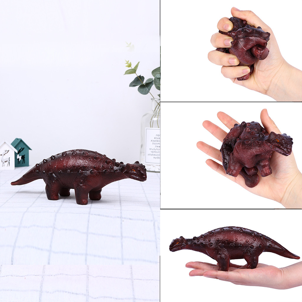 Squishy Kawaii Gigantes Mini Squeeze Toys Squishy Realistic Dinosaur Figure Slow Rising Collection Stress Reliever ToyW726