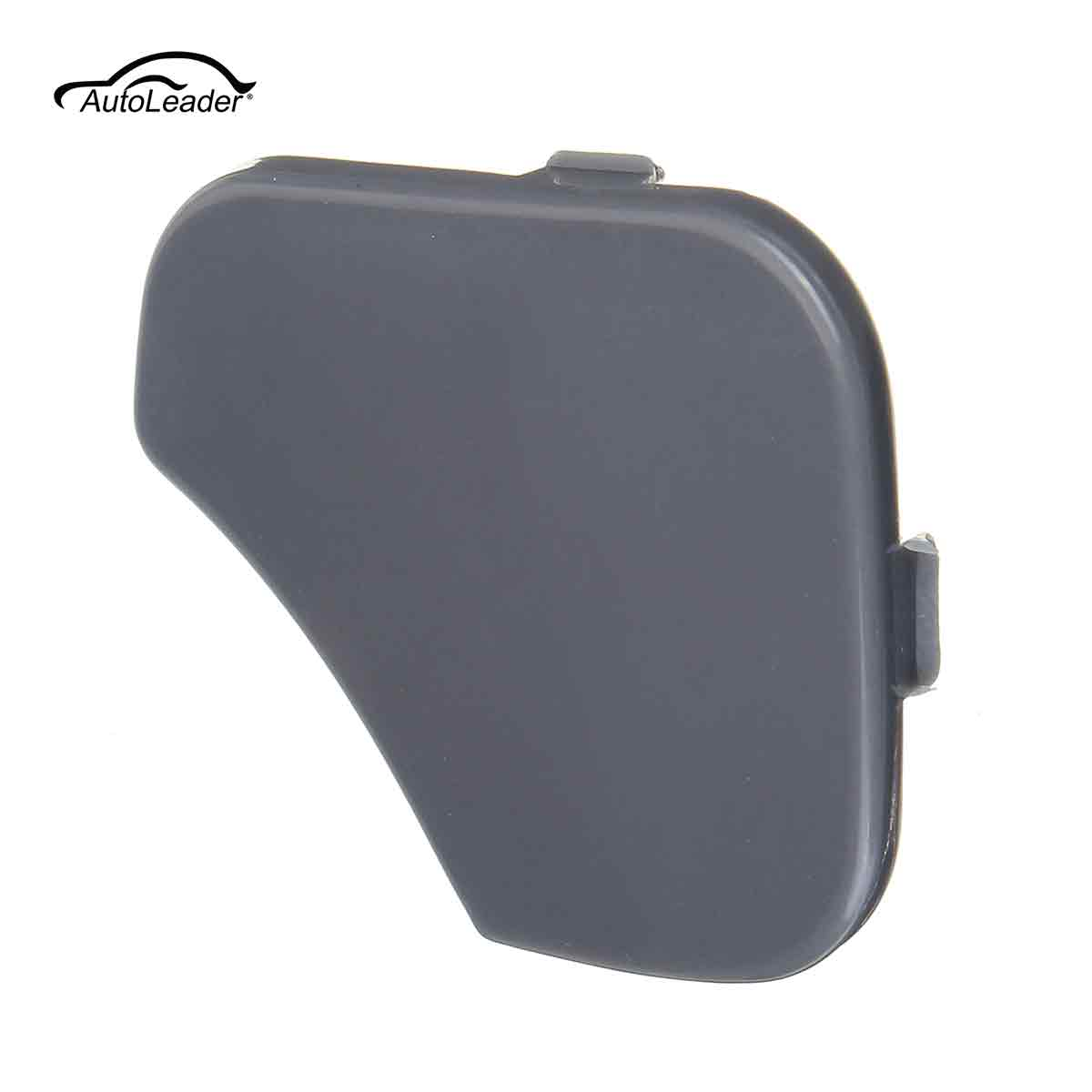 Gray ABS Front Bumper Tow Hook Cover Cap For FORD for FIESTA MK6 2005 2006 2007 2008 8x6x1.5cm 1375861 6S6117A989AA 1piece image