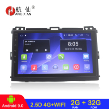 9' 2din Android 9.1 Car radio stereo for Toyota Prado120 Land cruiser 120 2004-2009 car