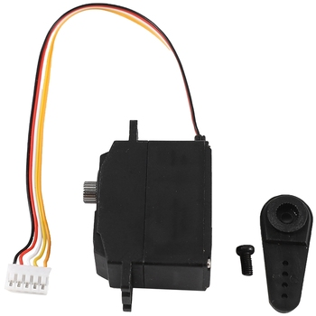 Rc Cars Parts Accessories Upgraded 25G Metal Gear Servo For Wltoys 12428 12423 12628 Rc Car Steering Gear Model Part