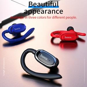 Image 4 - HOCO auriculares inalámbricos con Bluetooth para coche, dispositivo portátil con micrófono, manos libres, para iOS y Android