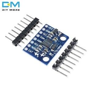 GY-521 MPU-6050 MPU6050 Модуль датчика 3 тройной оси гироскоп акселерометр совместимая плата для Arduino IIC I2C интерфейс 6050