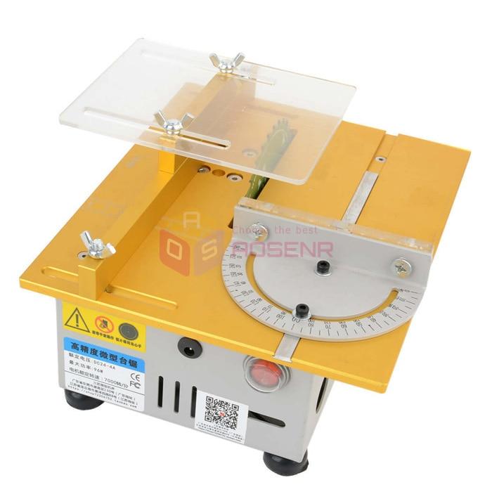 T5 Mini Petite Table Scie Lame Machine A Scier Bricolage Bois