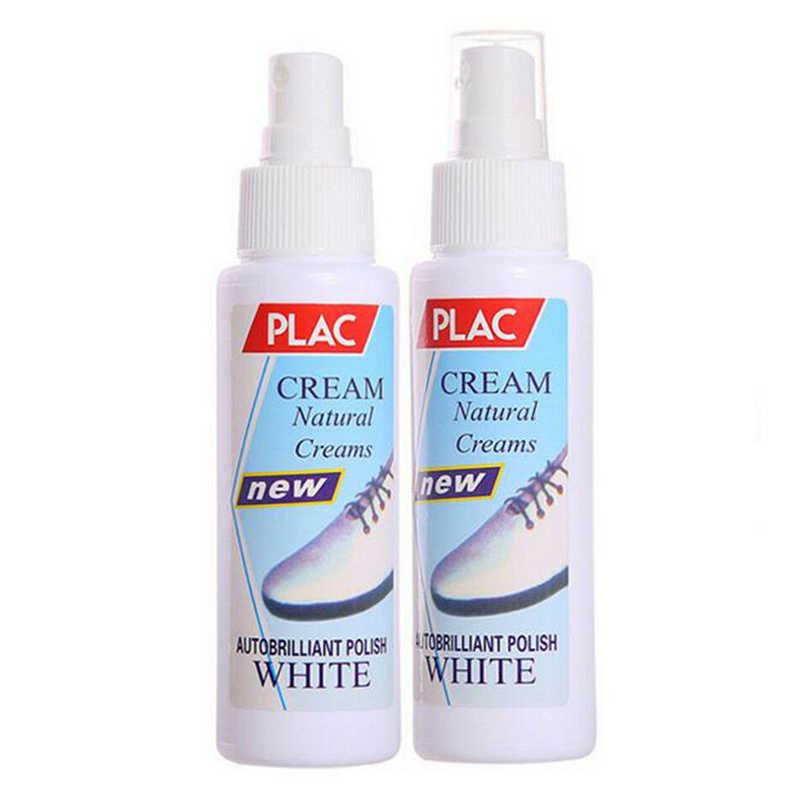 100ml Praktische Magic Verfrist Witte Schoen Cleaner Witte Schoen Cleaning Polish Liquid Tool Kit voor Toevallige Sneaker Schoenen
