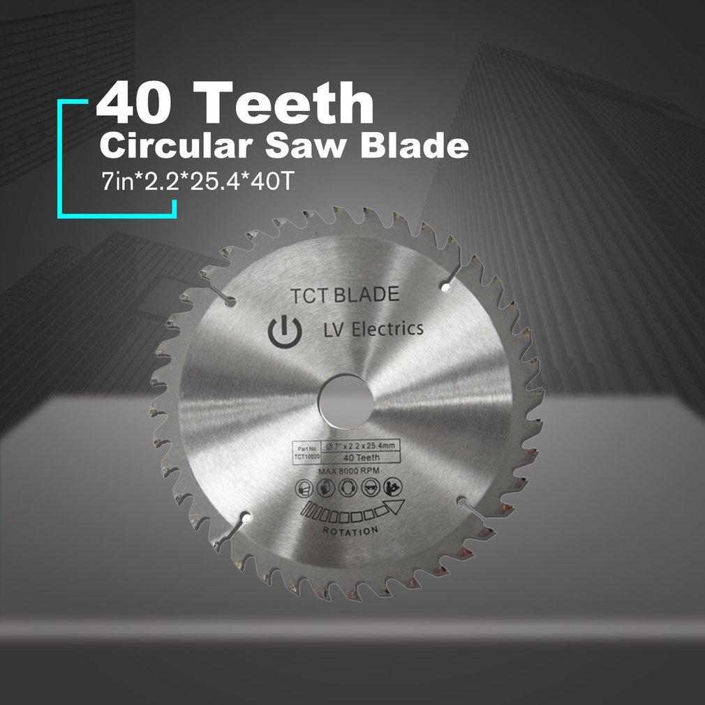 TCT 40 Teeth Circular Saw Blade Wheel Discs TCT Alloy Woodworking Multifunctional Saw Blade For Wood Metal Cutting Wholesale