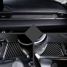 Подходит для Mazda 6 M6 мазда6 Atenza ABS аксессуары для стайлинга автомобилей внутренняя средняя консоль украшение крышка отделка 3 шт